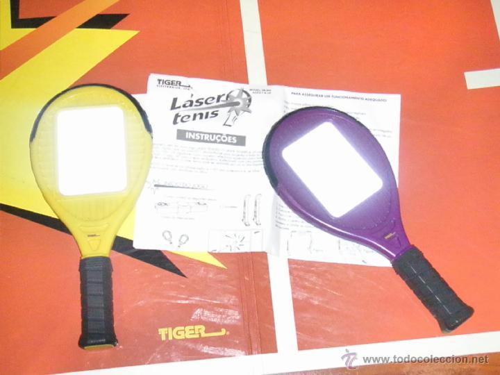 Juguetes antiguos y Juegos de colección: JUGUETE VINTAGE ELECTRONICO LASER TENIS TIGER ELECTRONICS - Foto 9 - 41291276