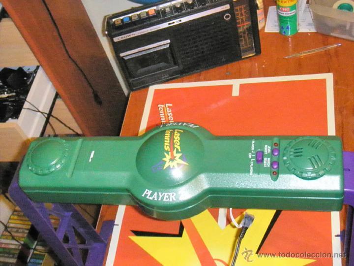 Juguetes antiguos y Juegos de colección: JUGUETE VINTAGE ELECTRONICO LASER TENIS TIGER ELECTRONICS - Foto 11 - 41291276