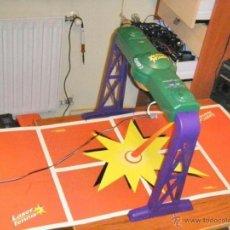 Juguetes antiguos y Juegos de colección: JUGUETE VINTAGE ELECTRONICO LASER TENIS TIGER ELECTRONICS. Lote 41291276