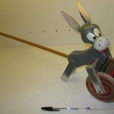 Altes Spielzeug und Spiele - Bonito juguete de madera ARRASTRE BURRITO años 60 Denia Goula?? - 41818303