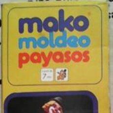 Juguetes antiguos y Juegos de colección: MAKO MOLDEO PAYASOS, COMANO 1978, MADE IN SPAIN. Lote 41836846