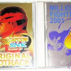 Brinquedos antigos e Jogos de coleção: CAPCOM VS SNK 2000 / 2001 OST / BSO / OGS ORIGINAL GAME SOUNDTRACK CD AUDIO. Lote 42507809