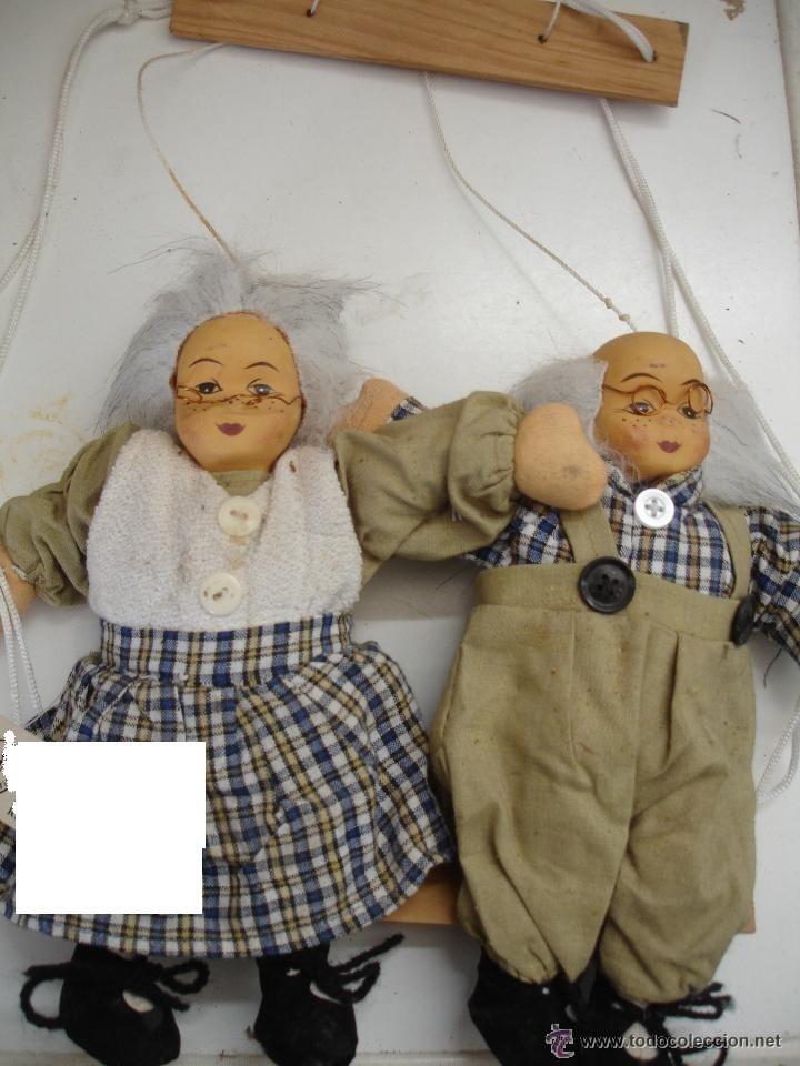 Marioneta Doble Ancianos Abuelos Comprar En Todocoleccion