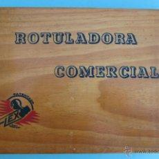 Juguetes antiguos y Juegos de colección: ROTULADORA COMERCIAL FLEX. IMPRENTA, IMPRENTILLA. SIN USAR.. Lote 42785983