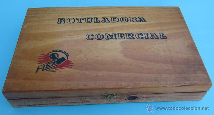 Juguetes antiguos y Juegos de colección: ROTULADORA COMERCIAL FLEX. IMPRENTA, IMPRENTILLA. SIN USAR. - Foto 2 - 42785983