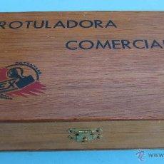 Juguetes antiguos y Juegos de colección: ROTULADORA COMERCIAL FLEX. IMPRENTA, IMPRENTILLA. SIN USAR.. Lote 42786351