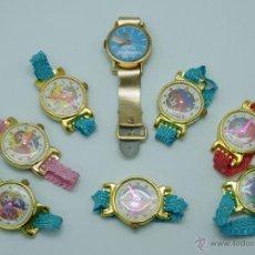 Juguetes antiguos y Juegos de colección: 8 RELOJ INFANTIL PERSONAJES MANGA CÓMIC JAPONÉS CANDY CANDY PARA NIÑA CHILD WATCH JAPAN AÑOS 80. Lote 42850246