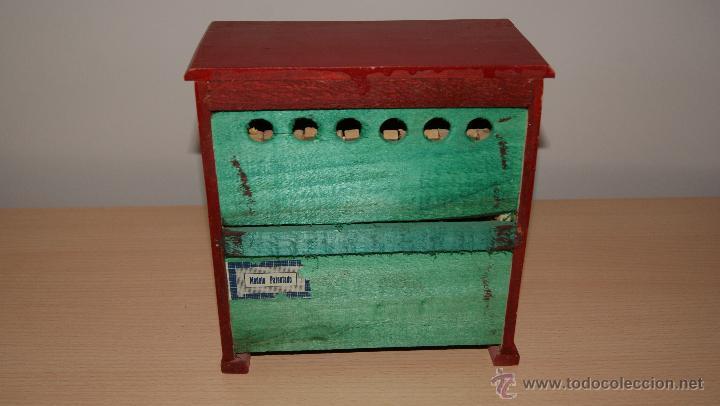 Juguetes antiguos y Juegos de colección: Antiguo PIANO de Juguete años 50 totalmente en madera. Funciona - Foto 3 - 42940838