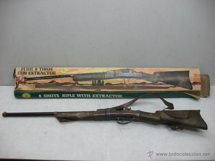 Juguetes antiguos y Juegos de colección: Juguetes EMB Marti - Antigua Pistola rifle fúsil de juguete - Foto 2 - 43111577