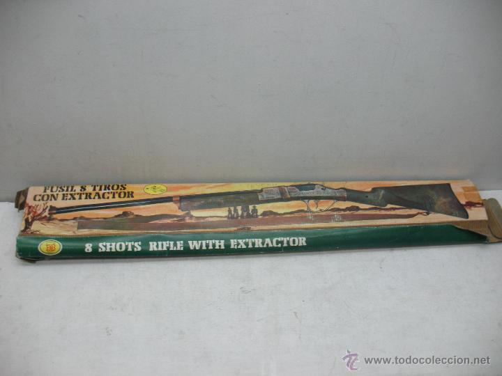 Juguetes antiguos y Juegos de colección: Juguetes EMB Marti - Antigua Pistola rifle fúsil de juguete - Foto 7 - 43111577