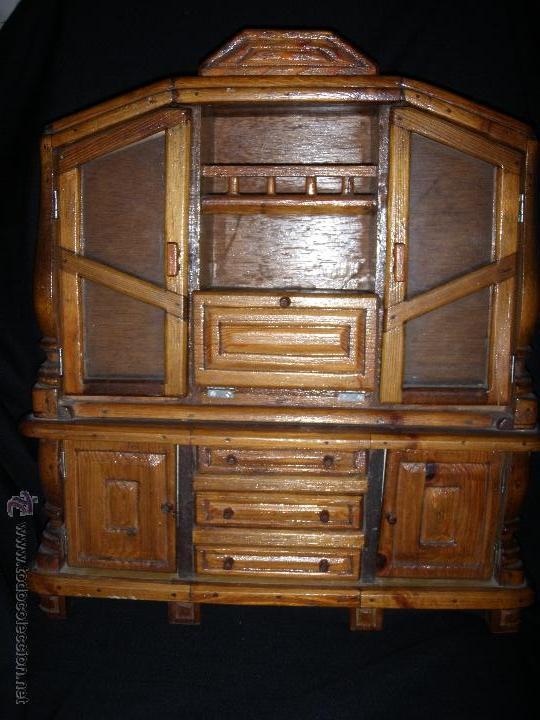 mueble de comedor de madera y cristales para mu - Kaufen Kleider und ...
