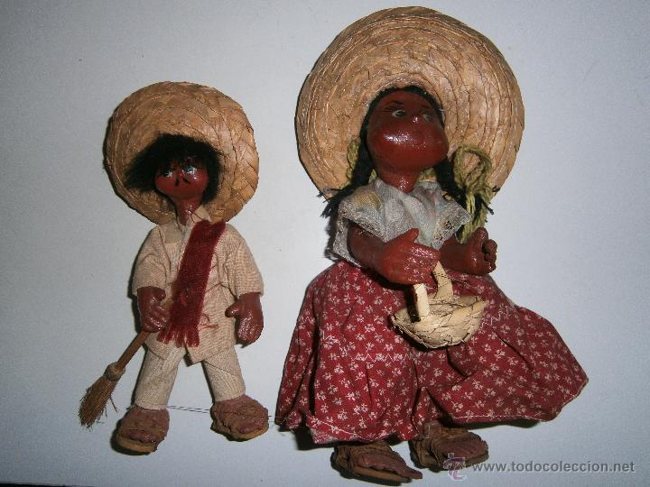 Pareja Munecos Mexicanos Comprar En Todocoleccion 43493028