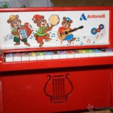 Juguetes antiguos y Juegos de colección: PIANO DE JUGUETE ANTONELLI ITALIA AÑOS 70?. Lote 43566958