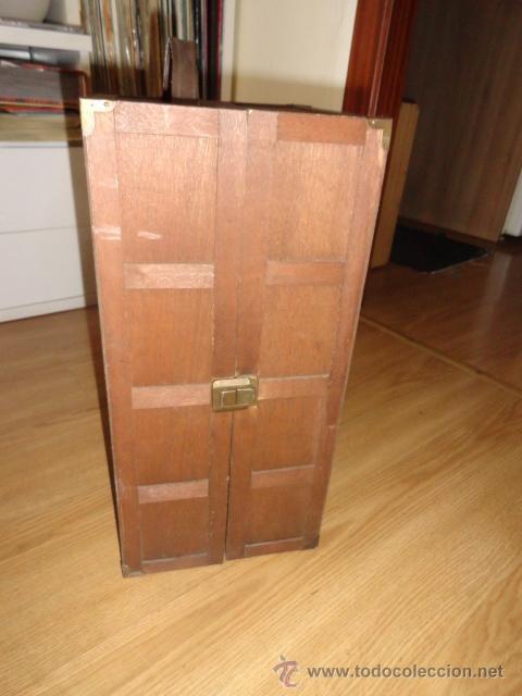 Antiguo baul armario de madera de balsa para m comprar - Juguetes antiguos de madera ...