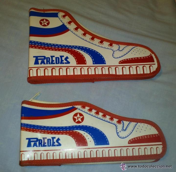 Rareza coleccionistas 2 estuches diferentes e comprar for Zapatillas paredes anos 90