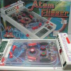 Juguetes antiguos y Juegos de colección: ATOM FLIPPER - PINBALL FABRICADO EN CHINA. Lote 43998051