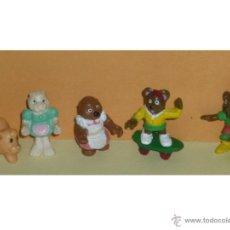 Juguetes antiguos y Juegos de colección: 5 ANIMALITOS POLLY POCKET. Lote 44140053
