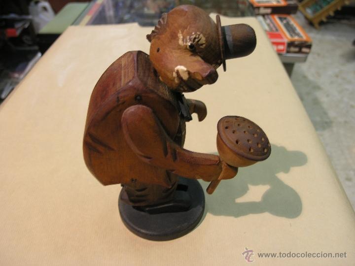 Juguetes antiguos y Juegos de colección: PAYASO MADERA AÑOS 50 - Foto 2 - 44419145