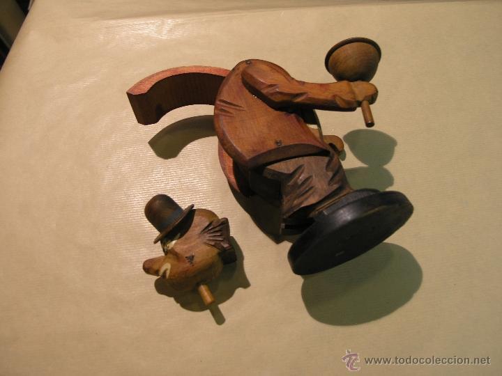 Juguetes antiguos y Juegos de colección: PAYASO MADERA AÑOS 50 - Foto 3 - 44419145