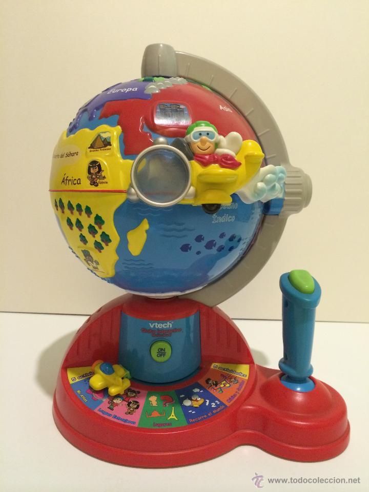 Bola del mundo interactiva comprar en todocoleccion for Bola juguete