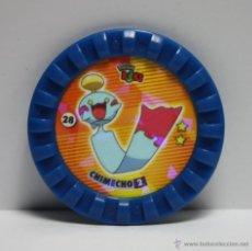 Juguetes antiguos y Juegos de colección: TAZOS ROKS POKEMON, 28 CHIMECHO. Lote 44718572