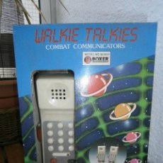 Juguetes antiguos y Juegos de colección: WALKIE TALKIES MARCA BOXER. COMBAT COMMUNICATIONS..AÑOS 80-90.NUEVOS.E. Lote 44724795