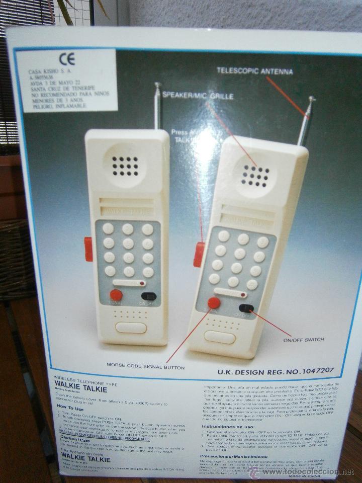 Juguetes antiguos y Juegos de colección: Walkie Talkies marca Boxer. Combat Communications..Años 80-90.Nuevos.e - Foto 2 - 44724795
