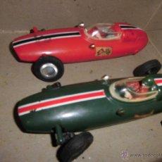 Juguetes antiguos y Juegos de colección: ANTIC CARS BRM GP OK COCHES DE PISTA COLONIA HONG KONG DE ENGLAND. Lote 94214907