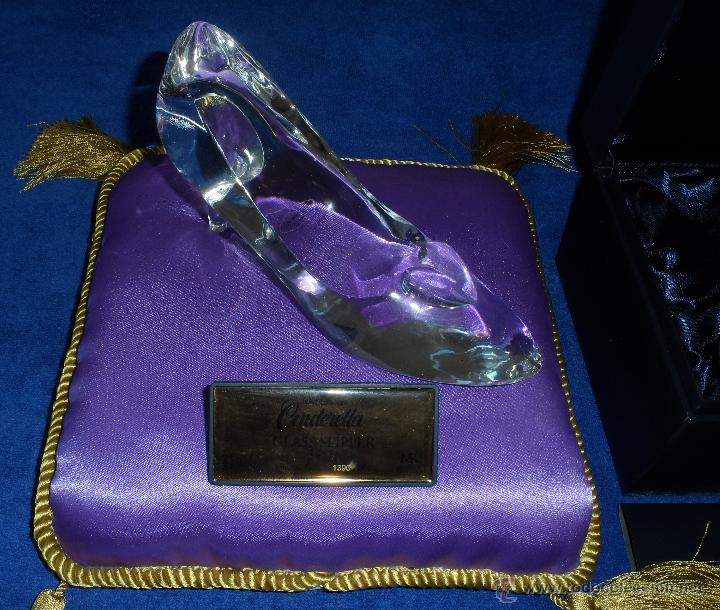 Juguetes antiguos y Juegos de colección: Master Replicas Cinderella Glass Slipper Limited Edition 2004 - Disney Showcase ¡Impecable! - Foto 10 - 45112259