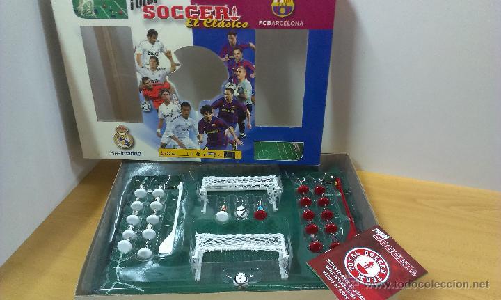 juego de mesa total soccer el clasico barcelo comprar