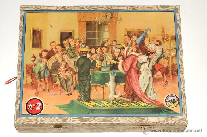 Juguetes antiguos y Juegos de colección: ANTIGUO JUEGO DE MAGIA BORRAS Nº 2 - Foto 2 - 45404980