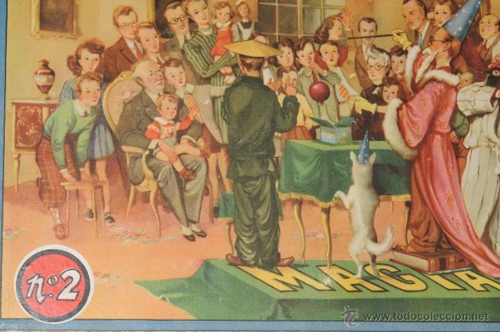 Juguetes antiguos y Juegos de colección: ANTIGUO JUEGO DE MAGIA BORRAS Nº 2 - Foto 4 - 45404980