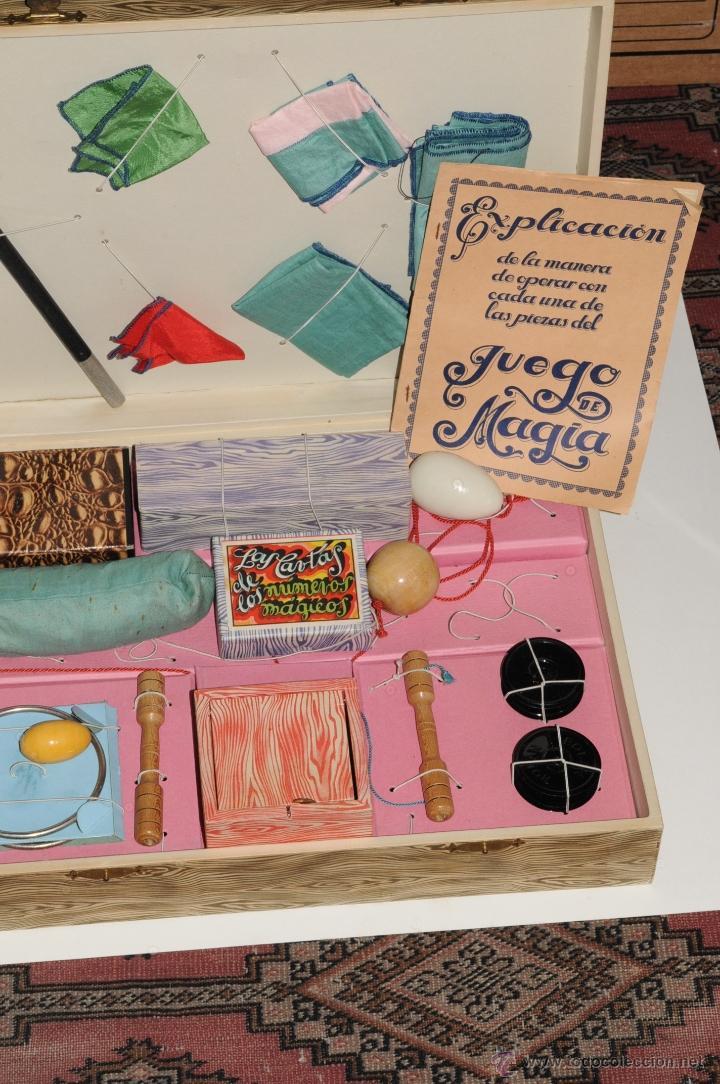Juguetes antiguos y Juegos de colección: ANTIGUO JUEGO DE MAGIA BORRAS Nº 2 - Foto 7 - 45404980