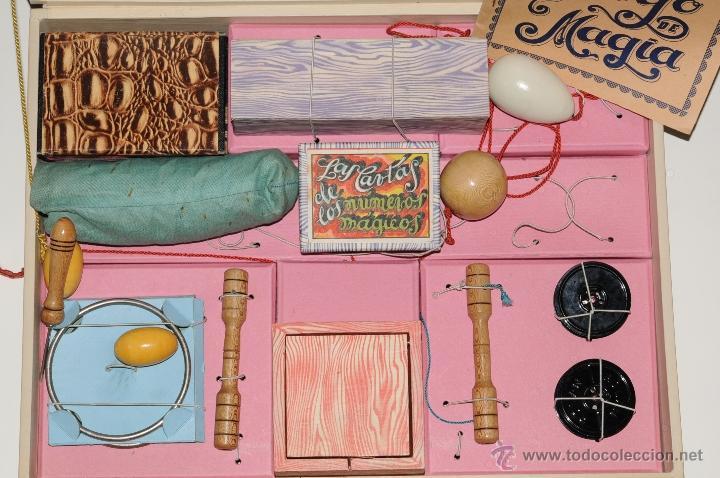 Juguetes antiguos y Juegos de colección: ANTIGUO JUEGO DE MAGIA BORRAS Nº 2 - Foto 8 - 45404980