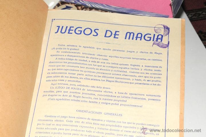 Juguetes antiguos y Juegos de colección: ANTIGUO JUEGO DE MAGIA BORRAS Nº 2 - Foto 17 - 45404980
