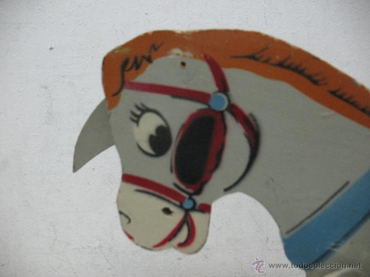 Juguetes antiguos y Juegos de colección: Denia - Antiguo burro de madera fabricado en España - Foto 5 - 45466972
