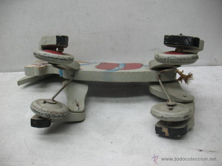 Juguetes antiguos y Juegos de colección: Denia - Antiguo burro de madera fabricado en España - Foto 6 - 45466972