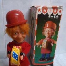 Juguetes antiguos y Juegos de colección - FOFO ANTIGUO MUECA A CUERDA IMPECABLE CON CAJA - 45557331
