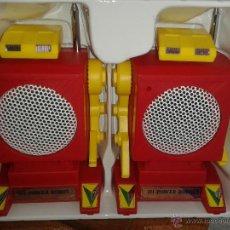 Juguetes antiguos y Juegos de colección: WALKIE TALKIES ROBOT .MUY RAROS. PERFECTO ESTADO*ROBOTIC WALKIE TALKIE*.AÑOS 70. Lote 48508783