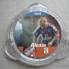 Juguetes antiguos y Juegos de colección: TAZOS PANINI LIGA DE FUTBOL KRAKS 06/07 Nº 104 ALEXIS. Lote 45902196