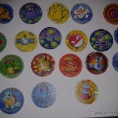 Juguetes antiguos y Juegos de colección - POKEMON TAZOS- lote 16 tazos_los voladores ya se vendieron - 48827810