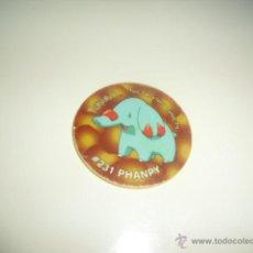 Juguetes antiguos y Juegos de colección: TAZO TAZOS 3 MATUTANO POKEMON 231 PHANPY . Lote 56347947