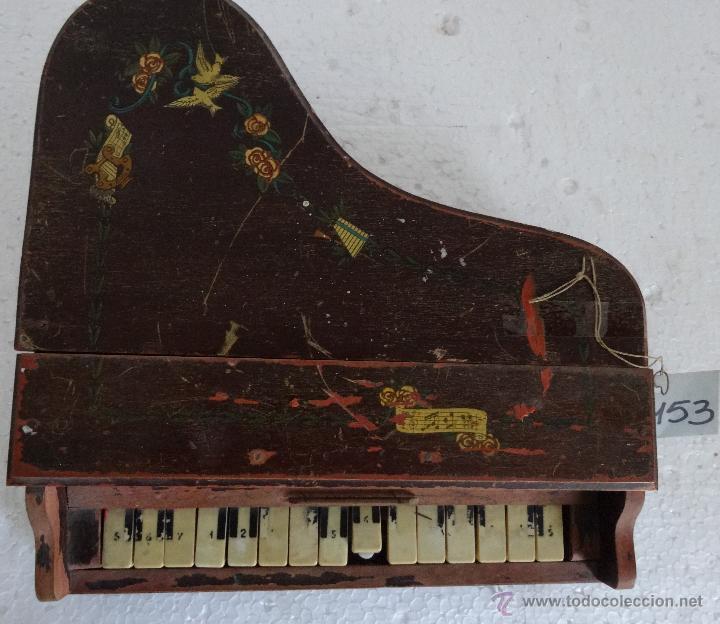 Juguetes antiguos y Juegos de colección: PIANA DE JUGUETE EN MADERA - XXX 153 - Foto 14 - 42979349