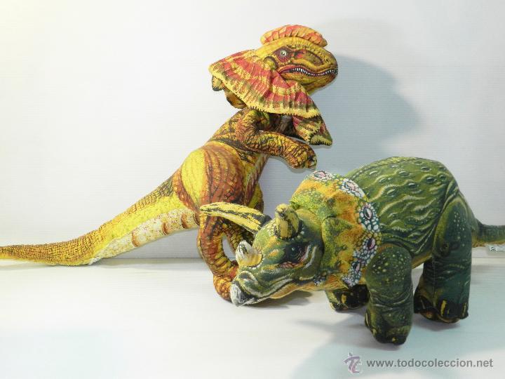 Munecos Dinosaurios Jurassic Park De Tela Grand Sold Through Direct Sale 46543829 El juego 'jurassic park alive' será lanzado esta primavera, meses antes de que se estrene la nueva entrega de el usuario podrá adentrarse en el famoso parque habitado por dinosaurios, pudiendo. comics and tebeos
