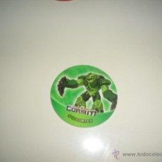 Juguetes antiguos y Juegos de colección: TAZO TAZOS GORMITI CHEETOS Nº 42 CORTEX 22 2 2 2. Lote 46546140
