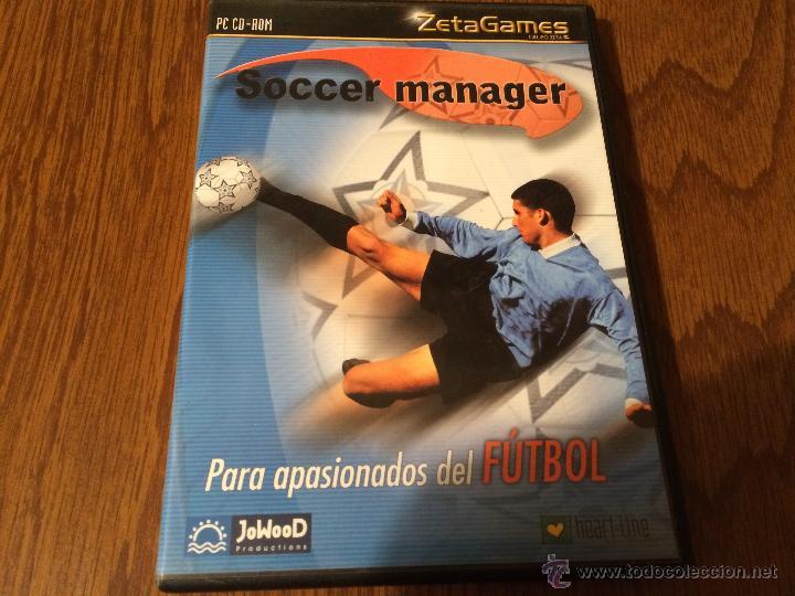 Antiguo Juego De Pc Cd Rom Soccer Manager Zeta Comprar En