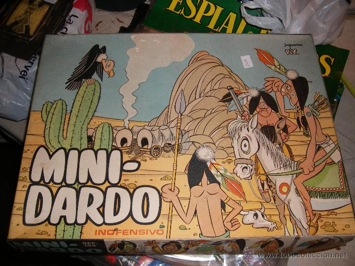 JUGUETE VINTAGE MINI DARDO (Juguetes - Varios)