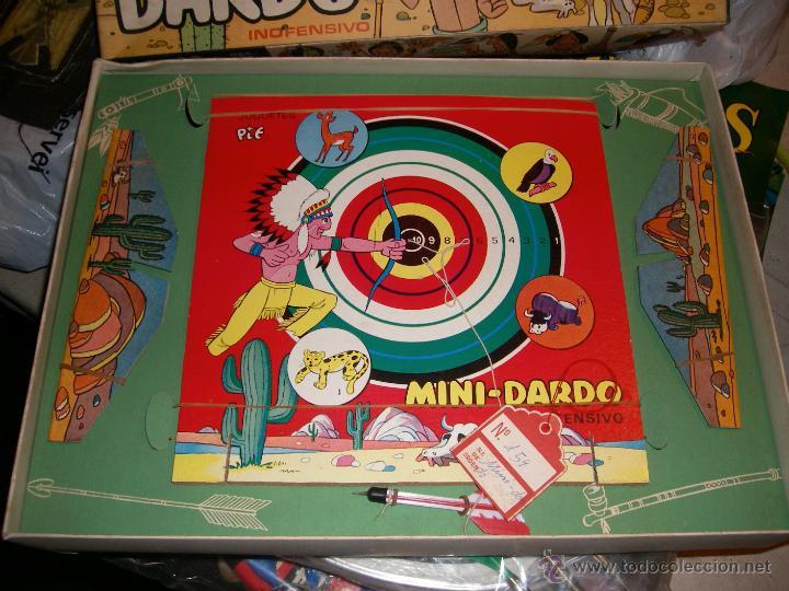 Juguetes antiguos y Juegos de colección: JUGUETE VINTAGE MINI DARDO - Foto 2 - 46830883
