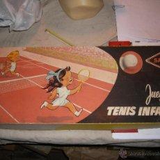 Juguetes antiguos y Juegos de colección: JUGUETE VINTAGE JUEGO TENIS INFANTIL. Lote 46831134
