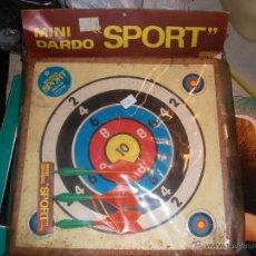 Juguetes antiguos y Juegos de colección: JUGUETE VINTAGE MINI DARDO SPORT. Lote 46831280